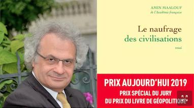 L'écrivain franco-libanais Amin Maalouf a remporté le prix Goncourt en 1973 pour son roman Le Rocher de Tanios